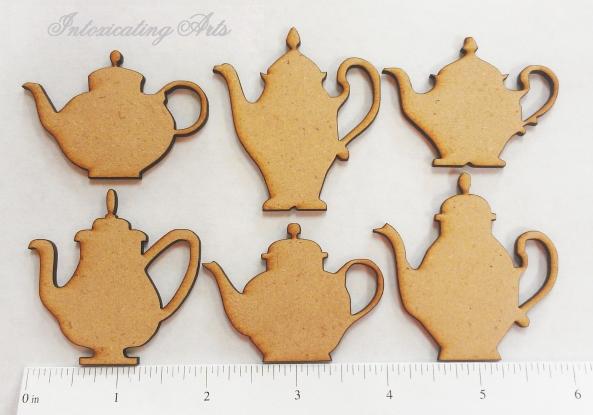 Teapot Laser Cuts
